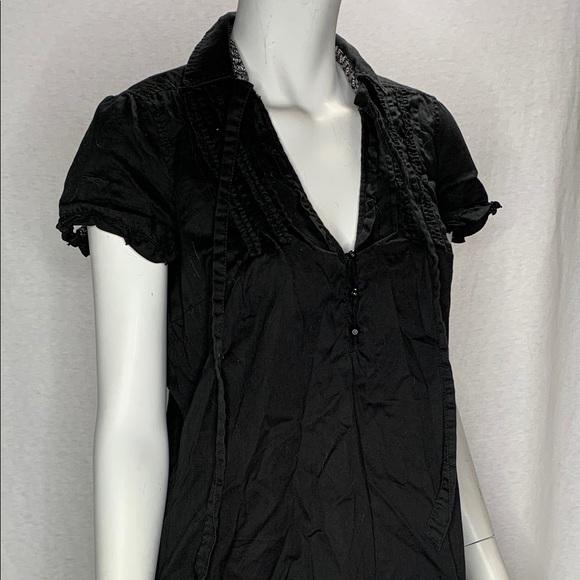 Esprit Dresses & Skirts - Esprit Black Dress Cap Sleeves Size 8
